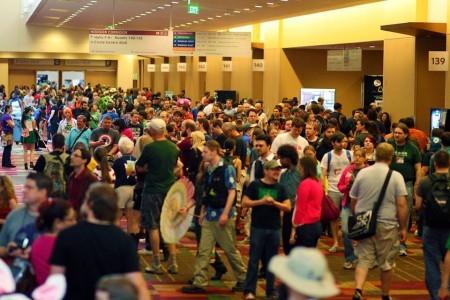 Massive crowd at Gen Con 2013