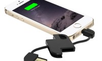 Skiva Cord2Go Keychain and iPhone Connector