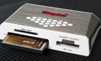 Kingston Digital Releases Fourth-Generation High-Speed Media Reader; 64GB 600X CF Card