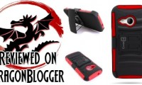 CoverON HTC One Remix Red/Black Holster Belt Clip Phone Case Review