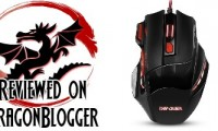 DBPOWER DPI Gaming Mouse, LED Optical 7 Buttons USB Wired Game Mice