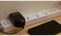 ORICO 4 Universal Outlets Surge Protector with 4 USB Charging Ports