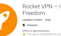 Liquidum Rocket VPN for Mobile Phones