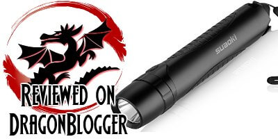 Suaoki 4-in-1 Cree Led Rechargeable Brightest Flashlight Torch Review