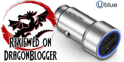 CHUWI Ublue 17W/3.4A Dual USB Car Charger Review