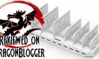 Unitek 10 Port USB Charging Station Review + Giveaway