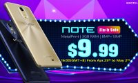 Get a Geotel Note with MTK6737 & 3GB RAM in flash sale for just $9.99 !