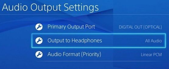 How to Output Game Audio to Headset on PlayStation 4