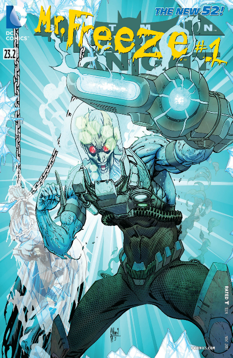 Mr Freeze Cover
