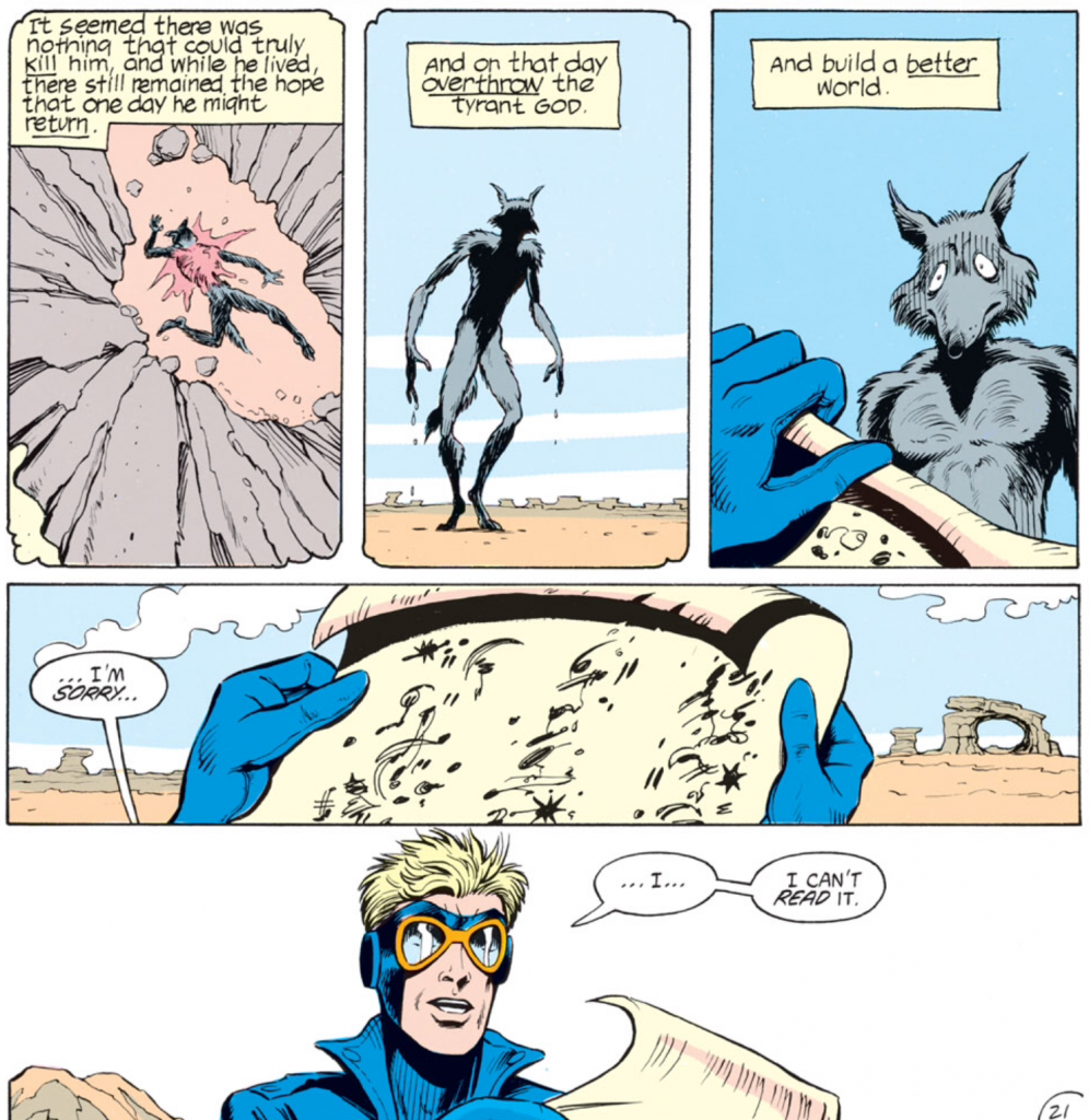Animal Man #5 - Fourth Picture