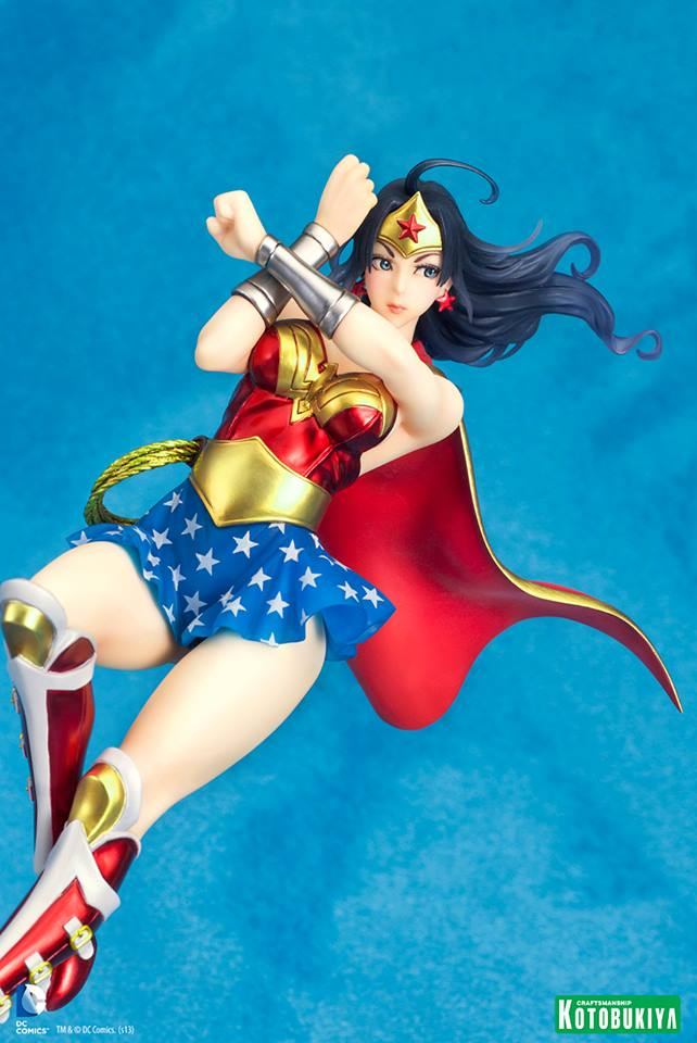 Armored-Wonder-Woman-Bishoujo-Statue-4