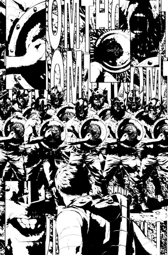 Kodiak will lead his soldiers into battle in issue 27. Art by Sorrentino.