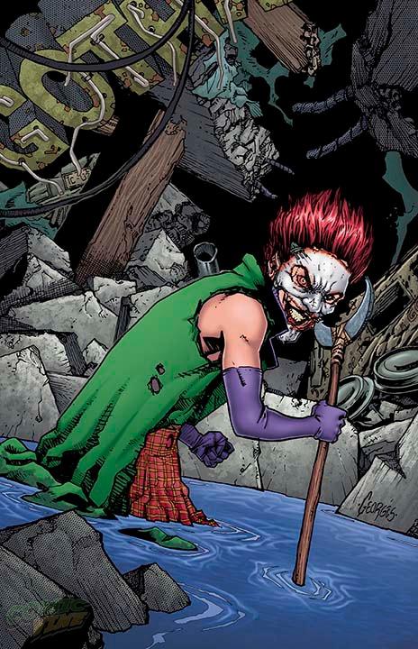 Cover to Batman: Joker's Daughter #1