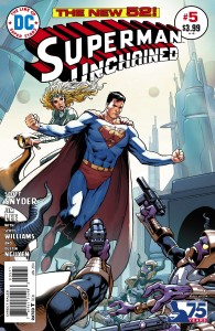 superman unchained 5 cover variant 2
