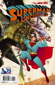 superman unchained 5 cover variant 1