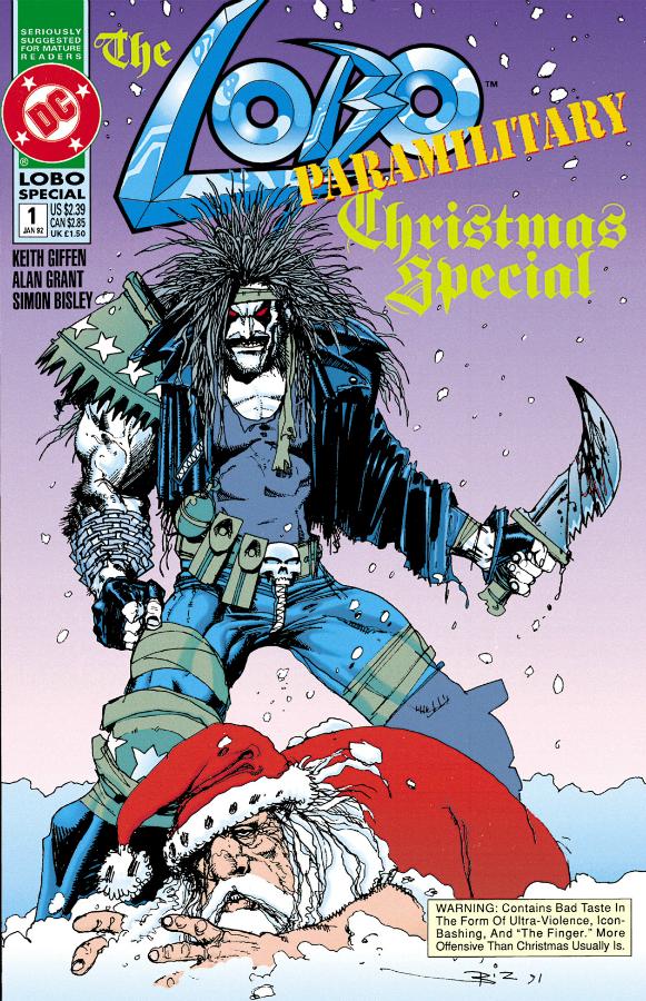 Lobo Paramilitary Christmas Cover
