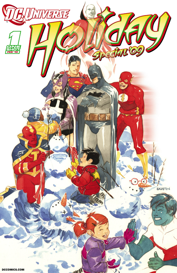 DC Holiday 2009 Cover