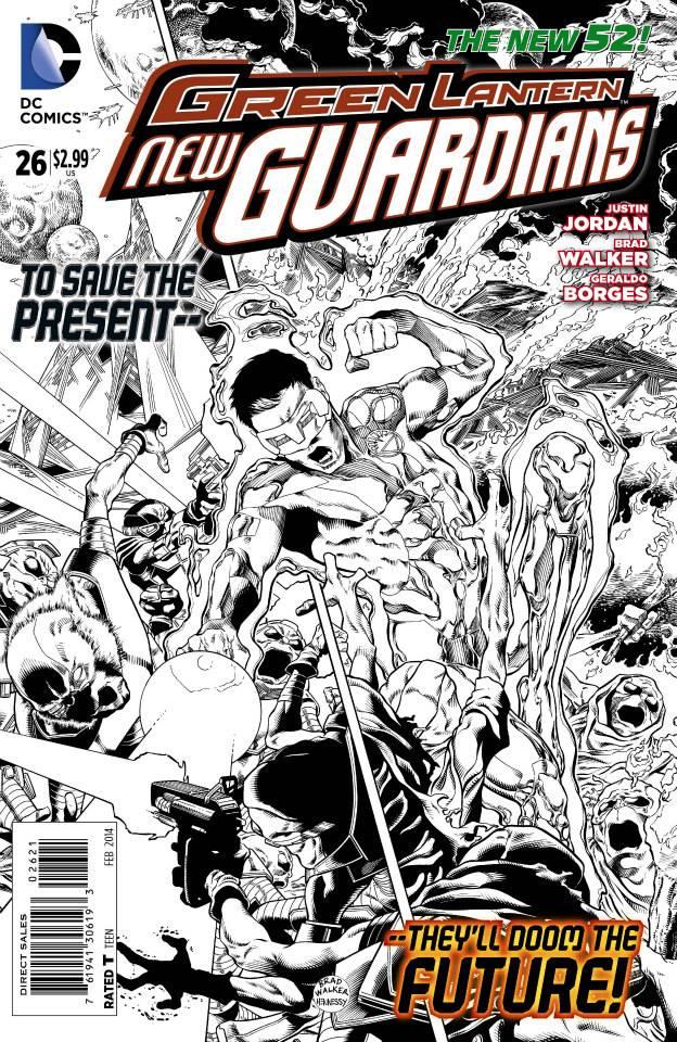 Green Lantern: New Guardians #26