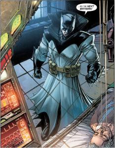 Cue Batman: the Animated Series theme.