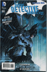 Detective Comics #27 variant cover by Jim Lee