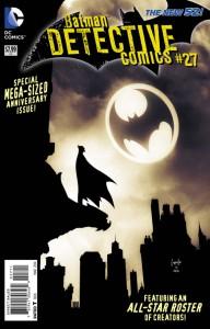Detective Comics #27 cover by Greg Capullo