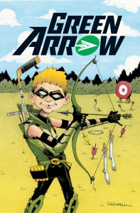 The cover to last year's Green Arrow MAD variant.