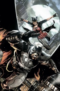 Batman: Detective Comics #28 cover by Jason Fabok