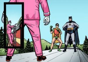 Batman meets Colonel Gumm