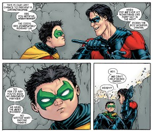 damian and dick grayson batman inc