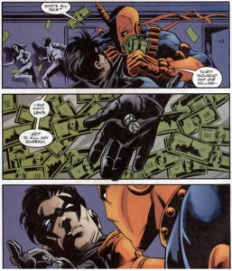 nightwing pays bounty #82