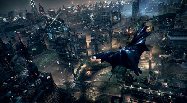 Batman, Arkham Knight, Gotham City