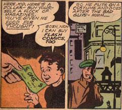 Buy some FLASH comics