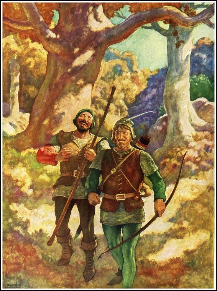N.C. Wyeth Robin Hood