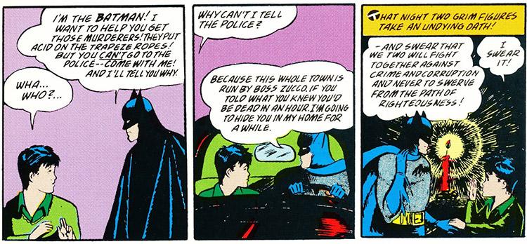 Robin gets sworn in