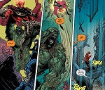Well, Swamp Thing has had enough.