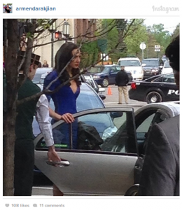 This picture of Gal Gadot was taken by a local businessman in Birmingham, Michigan.