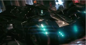 The new Batmobile not only adds a new element to gameplay, but also helps the player get around the map that is five times the size of Arkham City.