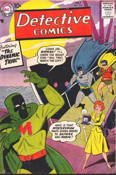 Detective Comics #245 Mystery Man