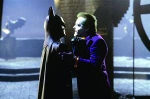 Nicholson and Keaton Batman