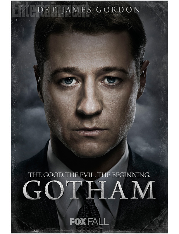 Det. James Gordon (Ben McKenzie): Idealistic new kid in town; a good cop saddled with a cynical partner who's determined to play by the rules in a city that doesn't have any.
