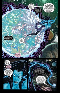 LARFLEEZE #12 - the Wanderer returns her siblings to their universe