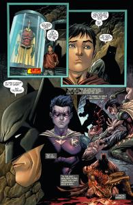 SECRET ORIGINS #3: Batman and Tim Drake discuss Jason Todd's death