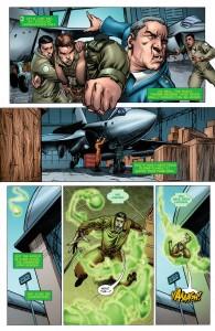 SECRET ORIGINS #3: Hal Jordan punches out a commanding officer