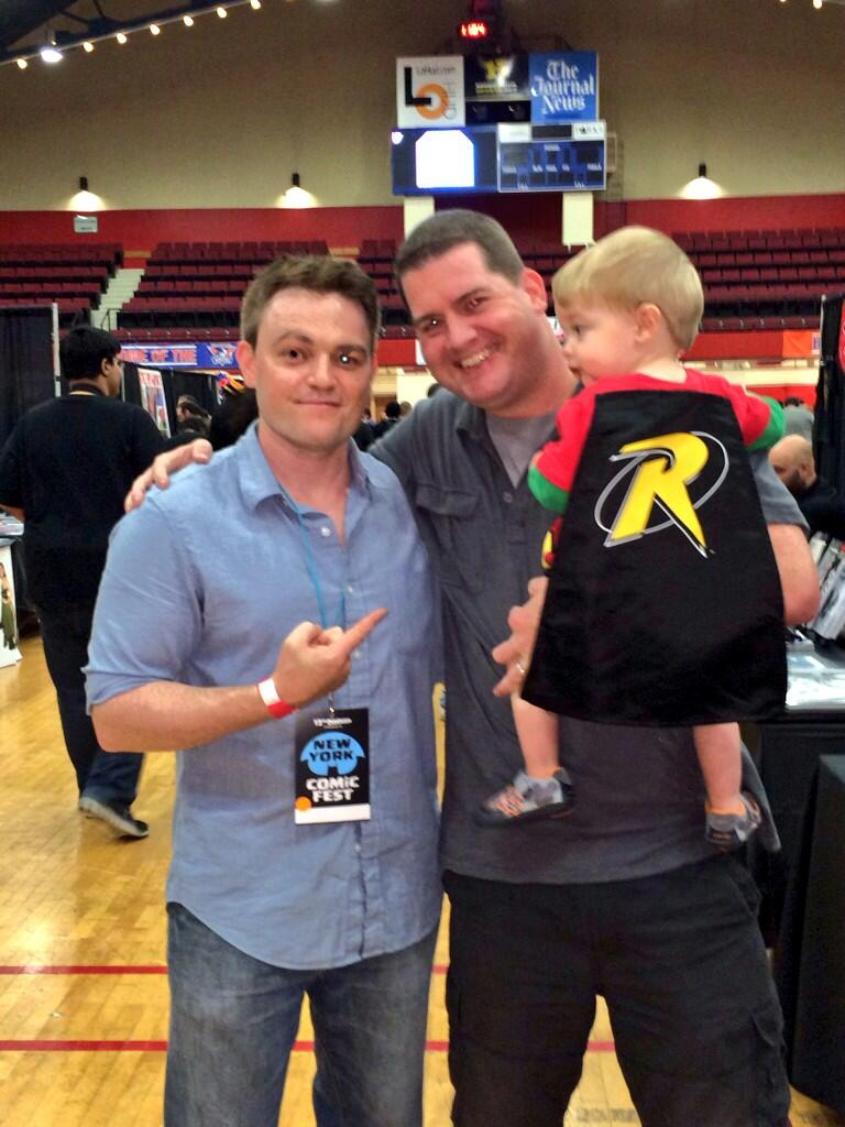 Scott Snyder and a fan