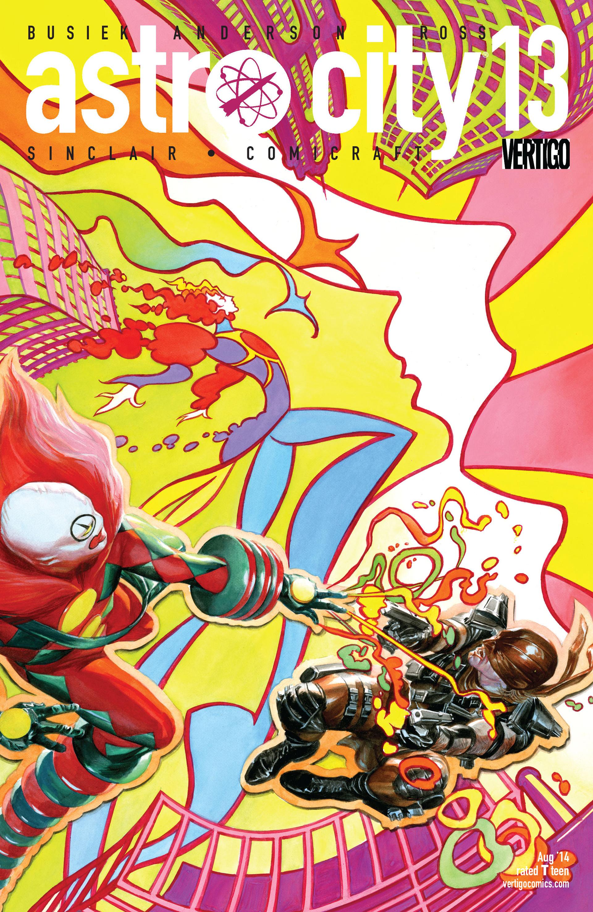 ASTRO CITY #13 cover