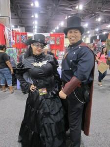 SteampunkSuperman&Batmanwoman