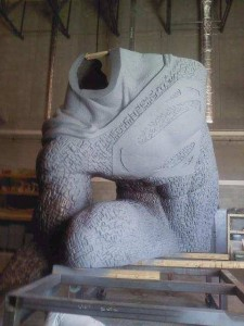 BvS-Statue