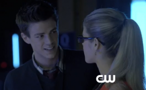 Barry Allen and Felicity Smoak began an interesting relationship when Barry first appeared on 'Arrow'