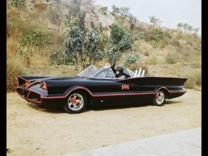 Batmobile from the '60s Batman TV series