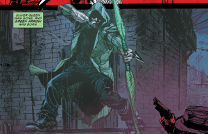 SECRET ORIGINS #4: Oliver Queen's first debut as Green Arrow